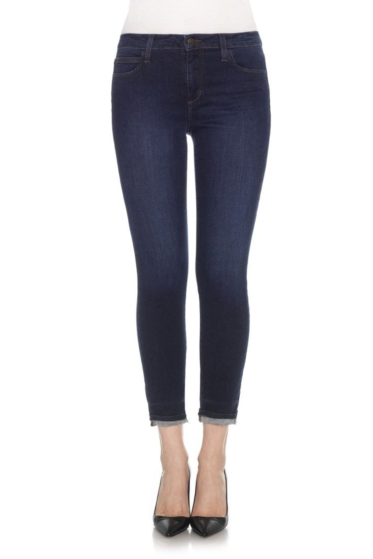 25  best ideas about Cropped Skinny Jeans on Pinterest | Black ...