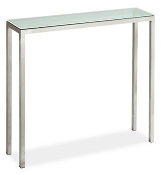 Glass Entryway Table