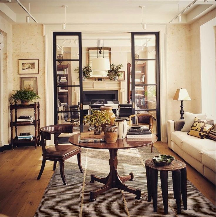 Habitually Chic Pleasure In Arranging: New York Offices Of Gil Schafer, As Featured In