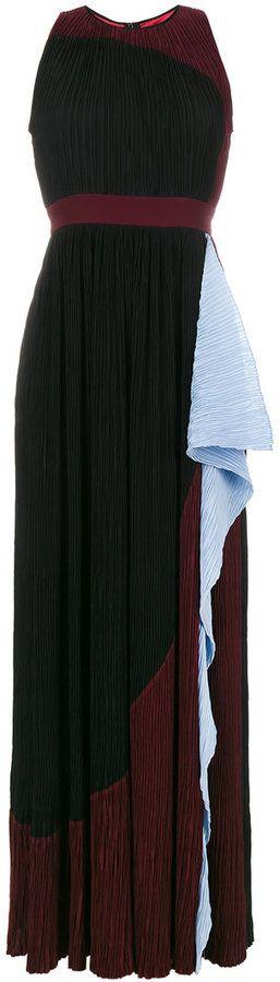 Roksanda Milda Silk pleated maxi dress