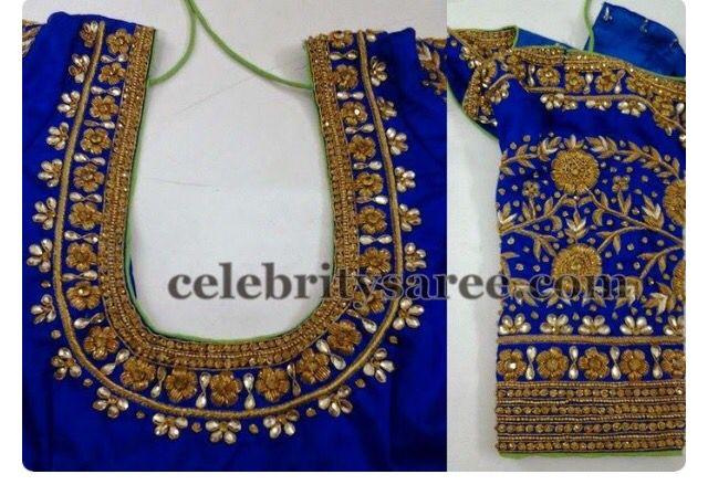 Saree bliuse designs