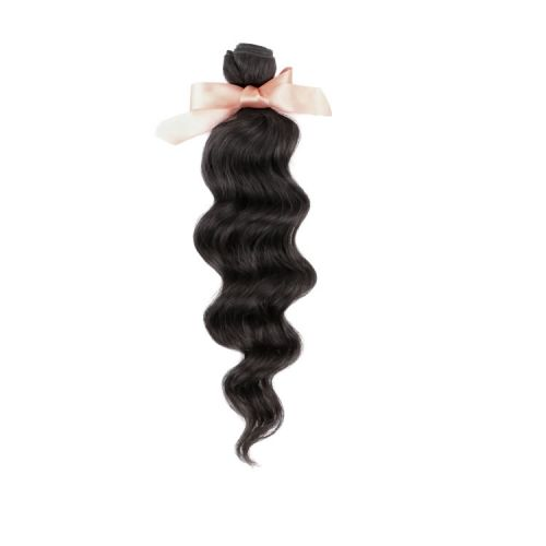 Malaysian Virgin Remy Hair Extensions Loose Wave hair 12-32 inch 100g Natural Black Good Quality Factory Price