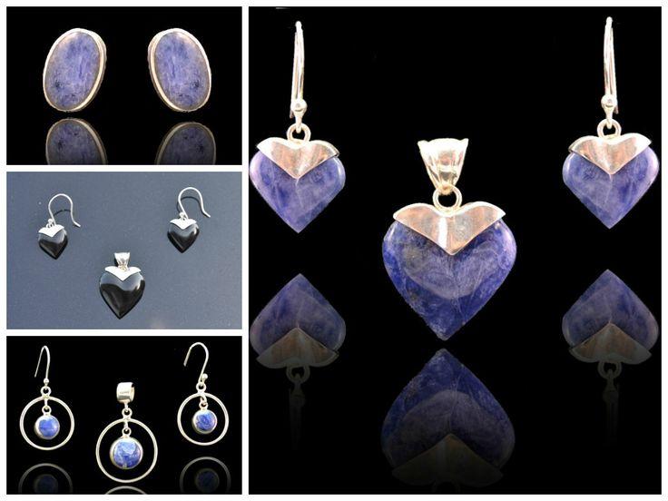 Het perfect cadeau! Prachtige sieraden met lapis lazuli edelsteen www.dczilverjuwelier.nl  Gratis verzending in NL