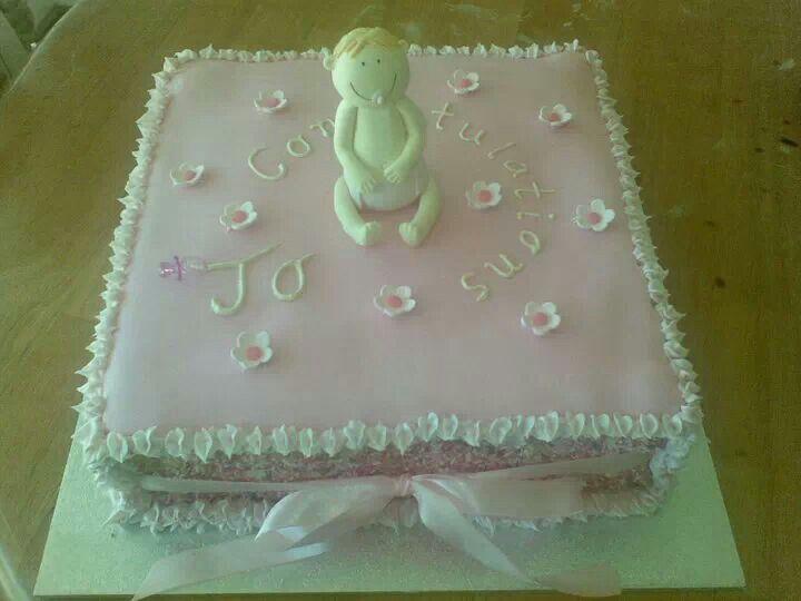 Baby Shower Cake 2