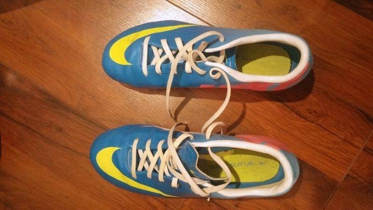 Nike mercurial rozm 38 korki niebieskie
