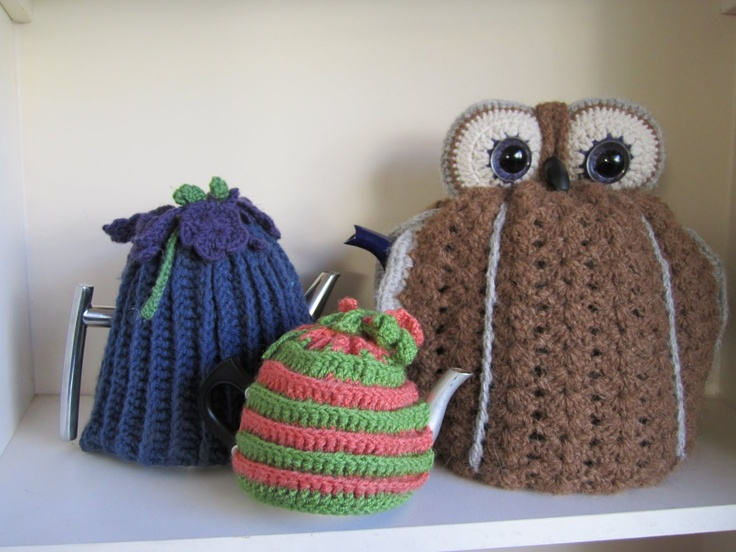 Free Crochet Pattern For Owl Tea Cozy Traitoro For