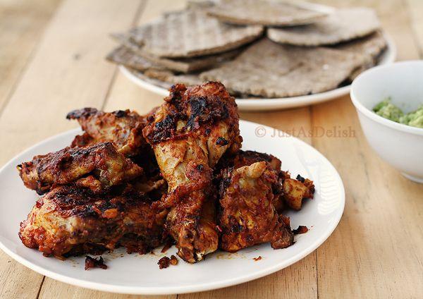 Ayam Golek Gaya Pahang (Pahang Style Spicy Grilled Chicken) | Healthy Malaysian Food Blog & Food Recipes