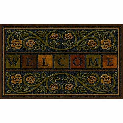 Apache Mills 60-730-1308 Ricardo Doormat 22-Inch by 36-  sc 1 st  Pinterest & 78 best Garden - Doormats images on Pinterest | Door rugs Doormat ...