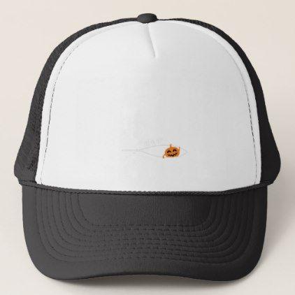 #Little Pumpkin Halloween Pregnancy tee Shirt Trucker Hat - #halloween #hats #party #ideas #idea #accessories