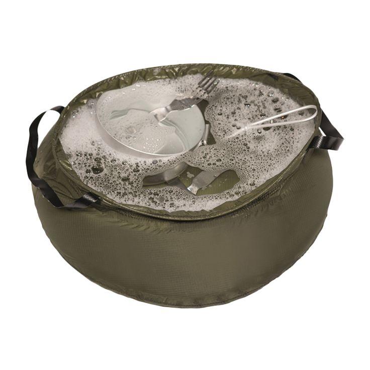 Nicht nur als Waschbecken geeignet, sondern auch zum Abspülen, Wäsche- oder Geschirrwaschen, Beerensammeln, Salatschüssel, Futter- bzw. Wassernapf für den Hund, Outdoor-Aquarium usw. Zusammengefaltet findet es in jeder Tragetasche oder...