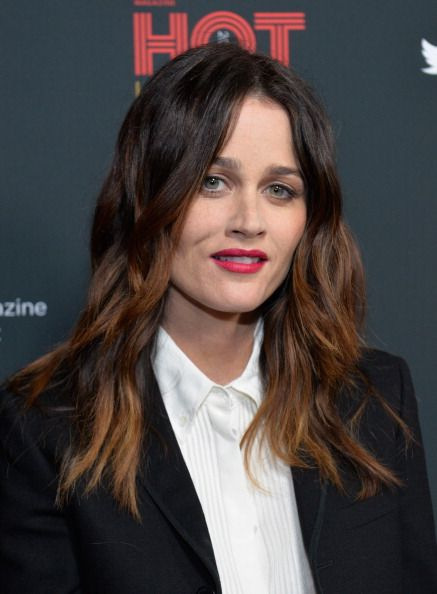 Robin Tunney	attends the TV Guide Hot Issue Party. #Hair by Michael Long. #Makeup by Lottie.