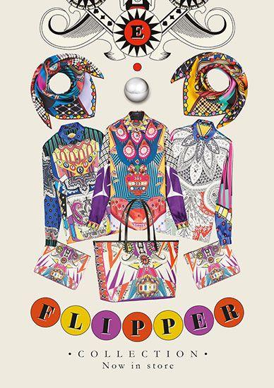 """エトロの新作""""フリッパー""""コレクションで、70年代モードに変身!"""