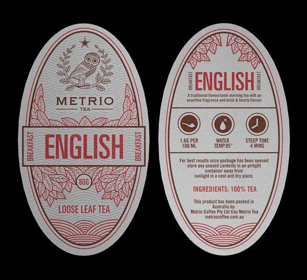 Metrio Tea on the Behance Network: Design Inspiration, Corporate Identity, Metrio Teas, Packaging Design, Teas Tags, Teas Packaging, Behance Network, Teas Branding, Teas Design