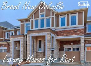 Oakville Luxury Town Houses for Rent - 4 Bedrooms - Brand NEW!