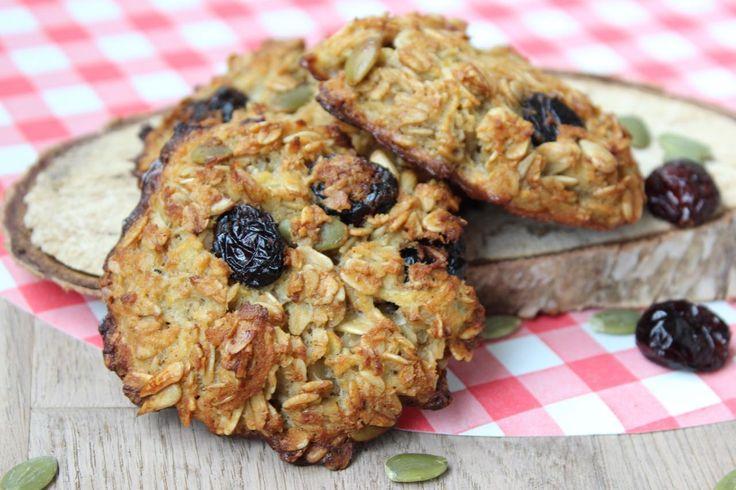 Recept voor cranberrykoeken - suikervrij - voedselzandloper - eethetbeter