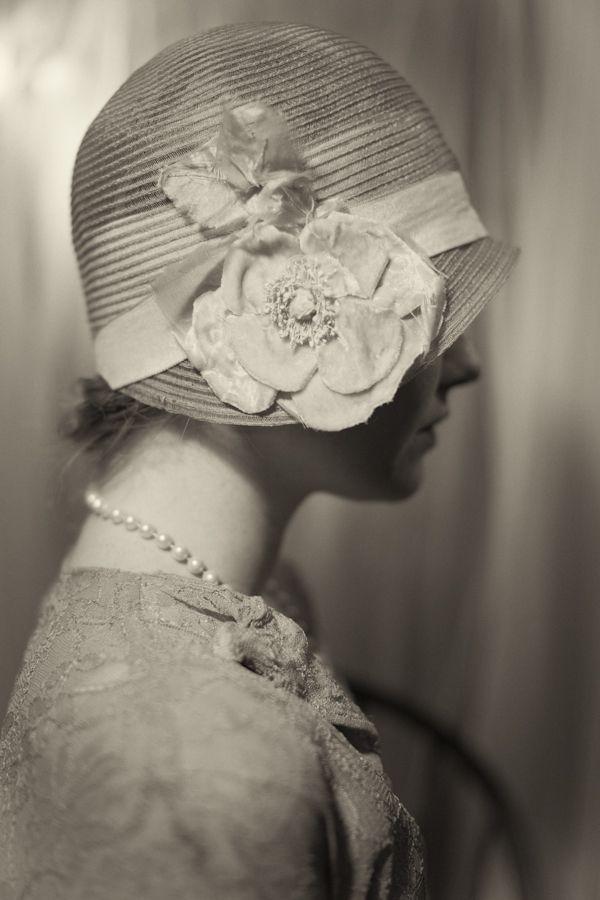 1920's cloche.