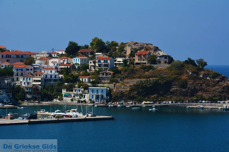 Greece Is.Ikaria...The Port Of Evdilos!