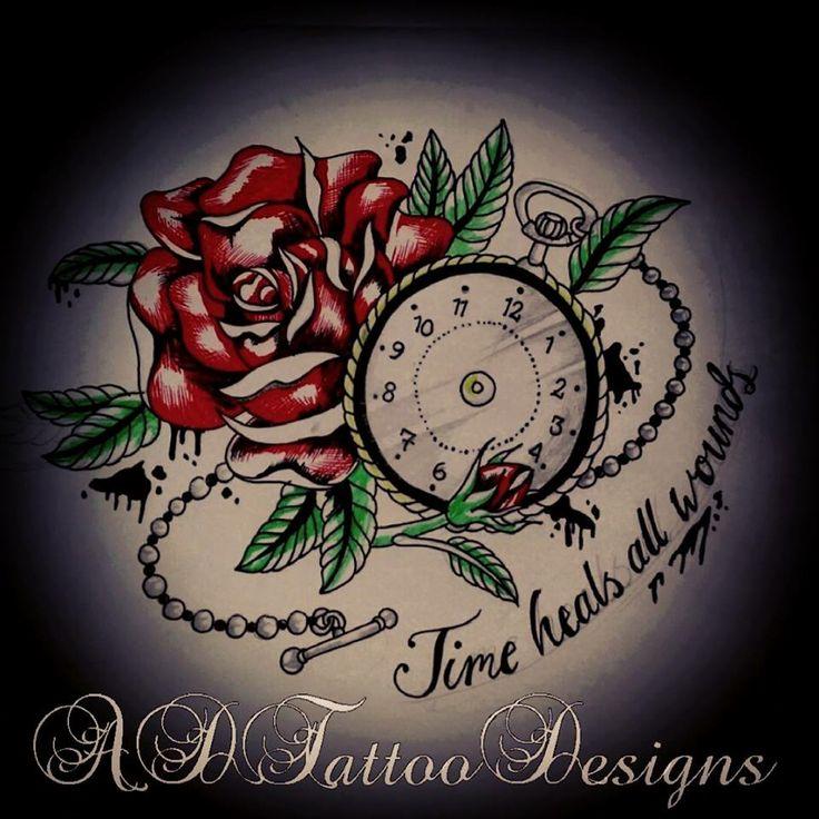 25+ Best Ideas About Time Heals Tattoo On Pinterest