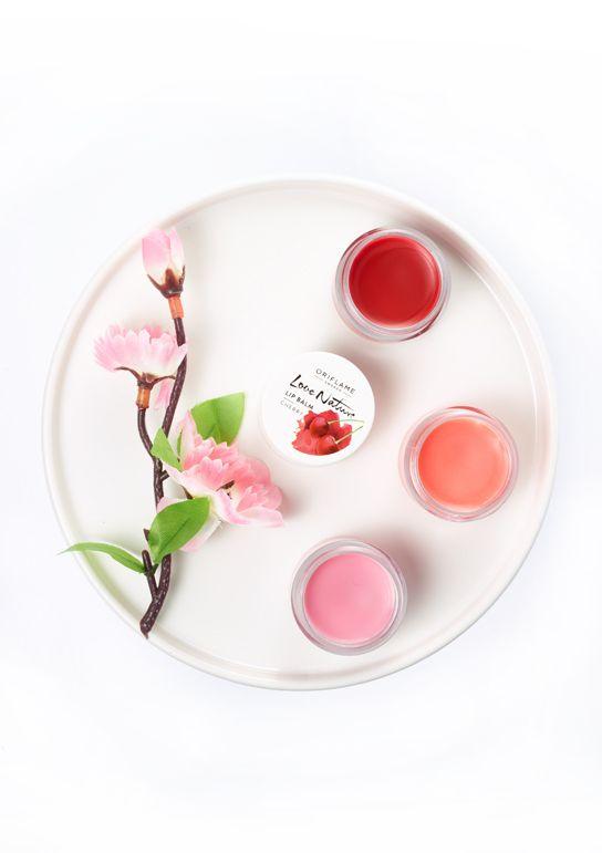 Deliciosos y nutritivos labiales frutales... fresa, frambuesa y cereza...