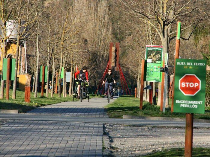 RuralVerd: La Via Verde del Hierro