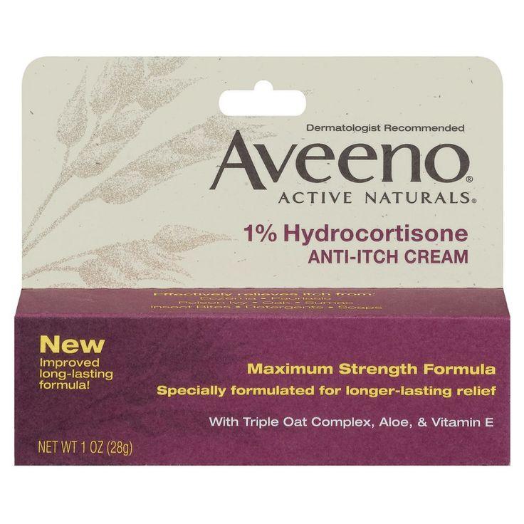 Aveeno Active Naturals Anti-itch Cream - 1 oz
