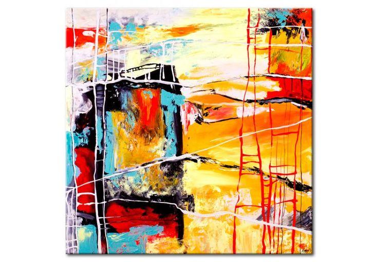 Obraz na płótnie Tęsknię za tobą - Kolorowe - Abstrakcje - Obrazy