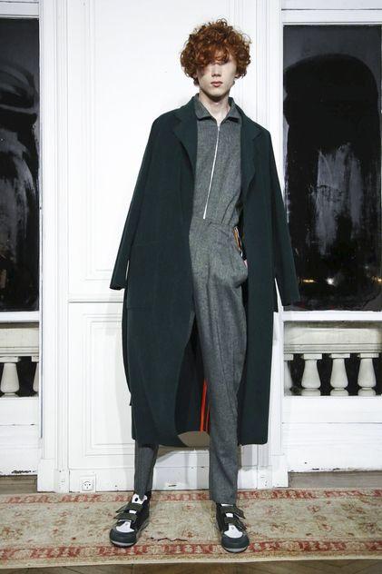 Nuku Fashion Show Menswear Collection Fall Winter 2018 in Paris