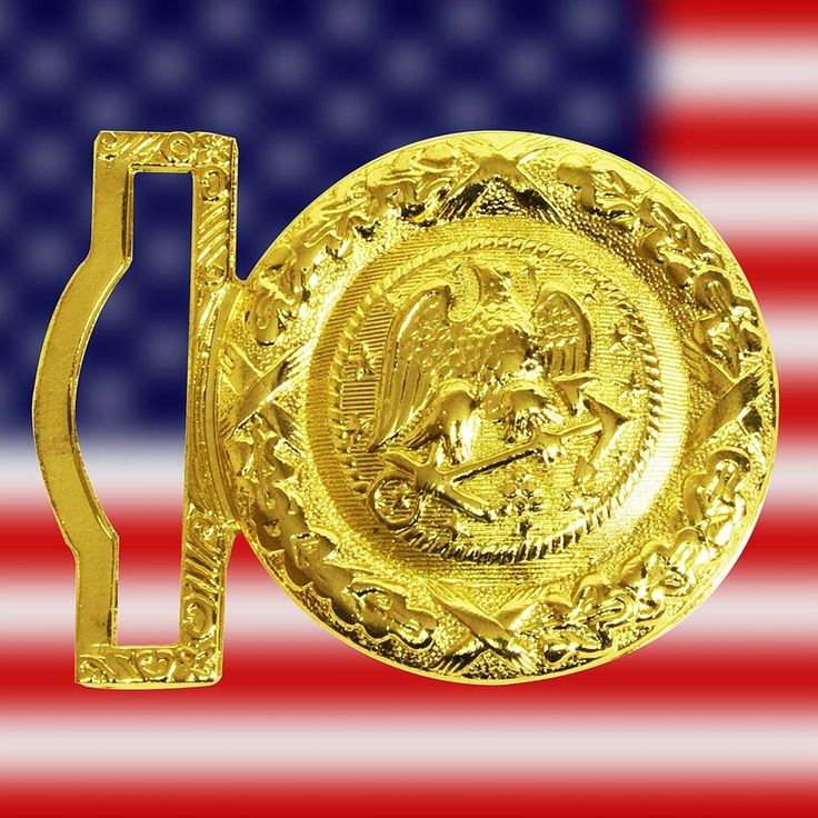 Get your own this Navy Officer's Buckle is made of brass from the only No.1 military surplus online store #militarysurplus #military