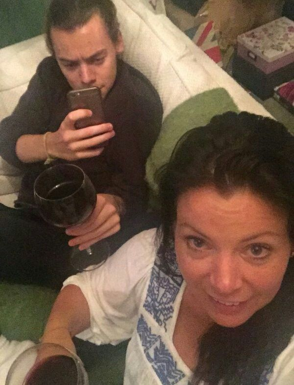 Harry Styles 2016 || Harry with Anne! So cute