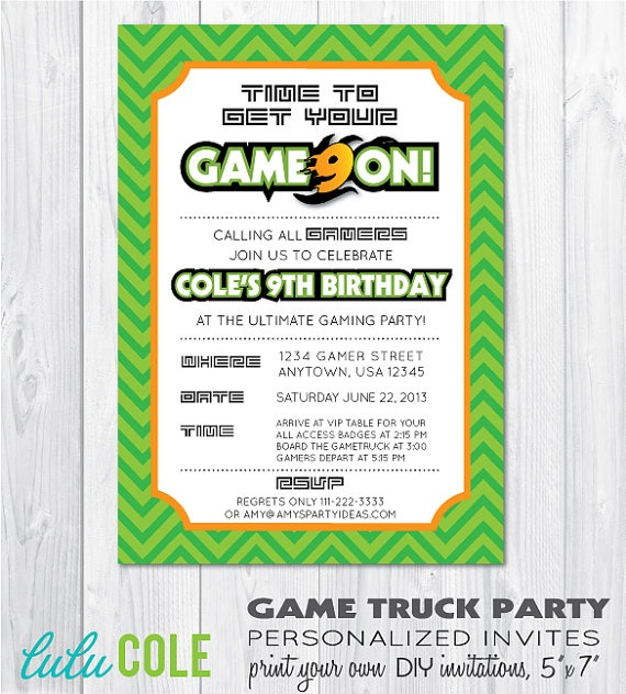 127 Best Video Game Party Ideas GAME TRUCK PARTY Images On