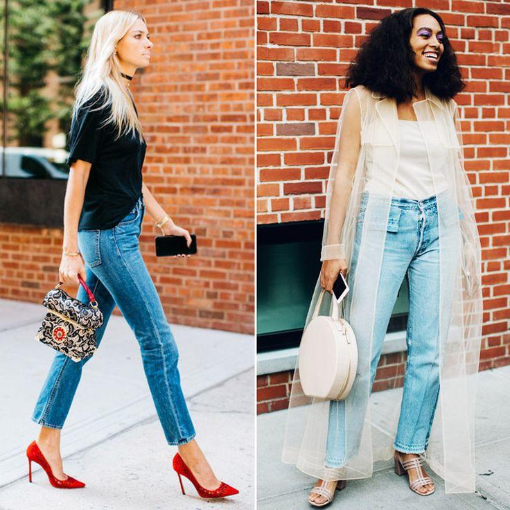 Нью-йоркская неделя моды продолжает радовать модными образами. Вот еще два вам в ленту. Они отражают главный тренд сезона – укороченные джинсы. Узкие или пошире вы предпочтете, это уже вам решать. Подобрать себе модные джинсы из новых коллекций вы сможете в JiST, ул.Саксаганского 65. #NYFW #fall #fashion #trend #streetstyle #outfitideas with #stylish #jeans  #мода #стиль #тренды #джинсы #модно #стильно #неделямоды