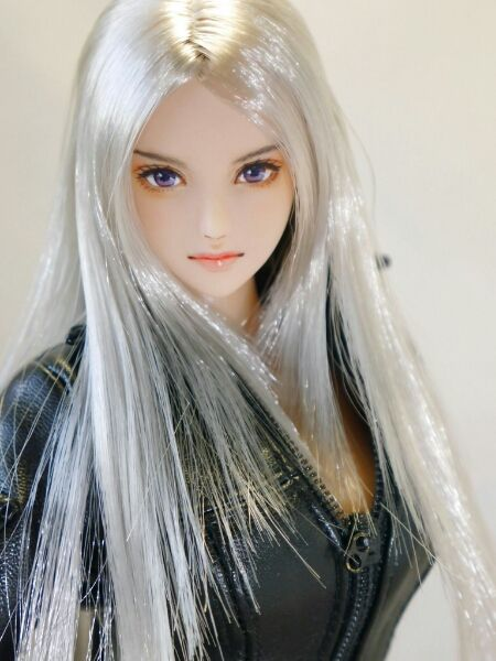 * Hana * 1/6 custom doll head Obitsu * one of a kind *