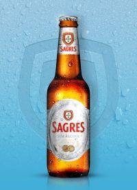 Sagres Sem Álcool País: Portugal Empresa: Sagres Cerveja Tipo de elaboración: Industrial | Tipo: Sin Alcohol | Portugal - Sin Alcohol Graduación: 0,3%