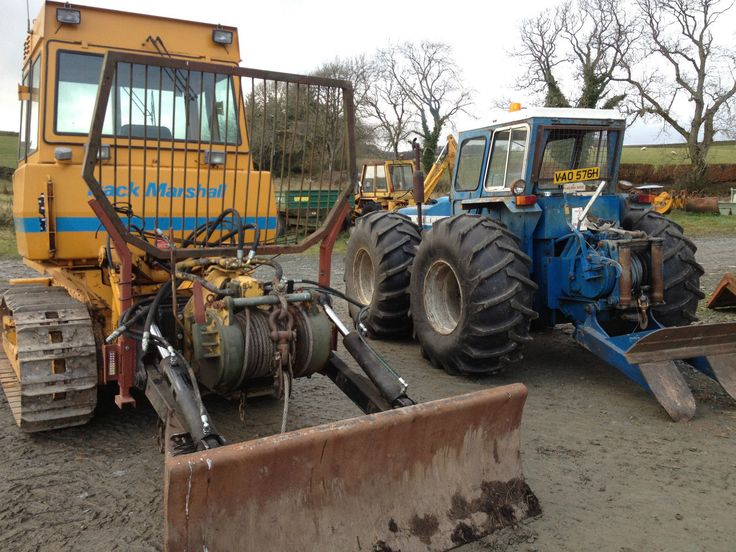 Hydraulic Winch Boughton Ulrich Rotzler Superwinch Tractor