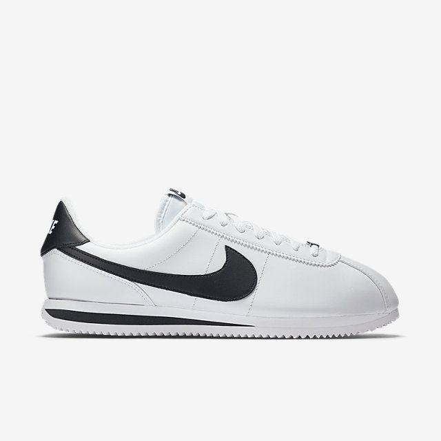 3fb9e4450 ... white safety orange) Nike Cortez Basic Leather Mens Shoe.