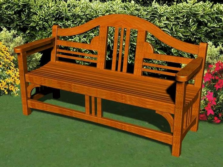 garden bench plans furniture plans