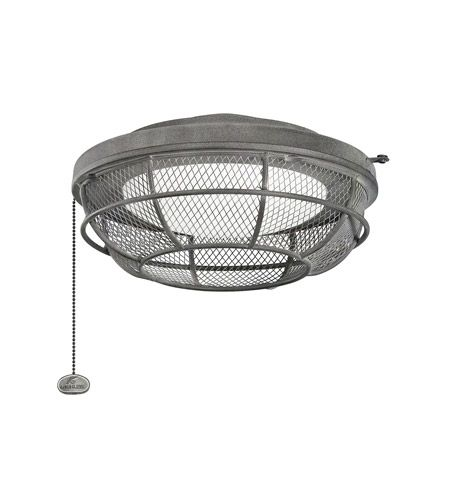 Kichler Fan Accessories 3 Light Fan Light Kit in Weathered Zinc 370044WZC #kichler #lightingnewyork #undercabinetlighting #outdoorlighting #lighting