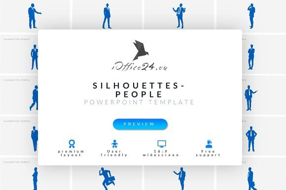 Silhouettes - People by ioffice24 on @creativemarket