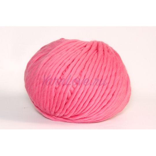 Пряжа толстая для вязания  Rainbow Wool, Carmine Rose,100% шерсть высокогорных перуанских овец