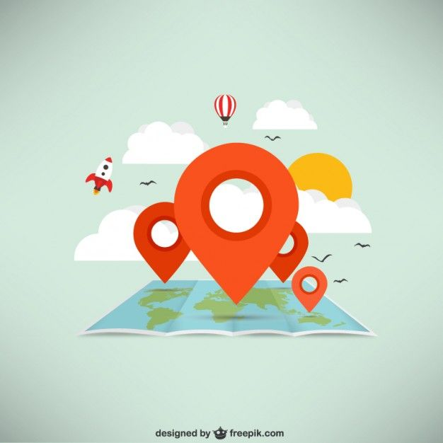 16 best freepik images on pinterest vectors cover letter sample world map with pointers free vector gumiabroncs Images