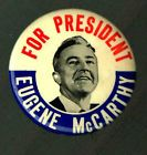 EUGENE McCARTHY FOR PRESIDENT PIN, PINBACK BUTTON A15 - http://oddauctions.net/presidential-history/eugene-mccarthy-for-president-pin-pinback-button-a15/