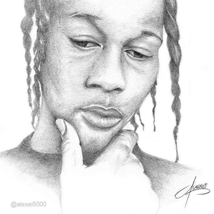 DJ Quik Drawing | Hip-Hop Art | Pinterest | Drawings and ...