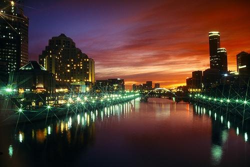 Melbourne Southgate and Yarra River.  #melbournehotels #holiday www.OzeHols.com.au