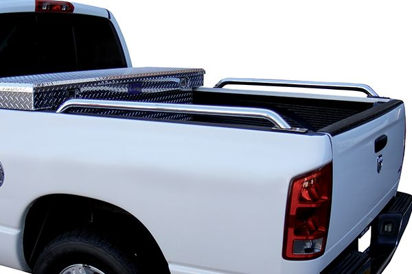 Go Rhino Universal Truck Bed Rails - Best Bolt On Truck Bed Rails in Black, Polished Nickel & Stainless Steel
