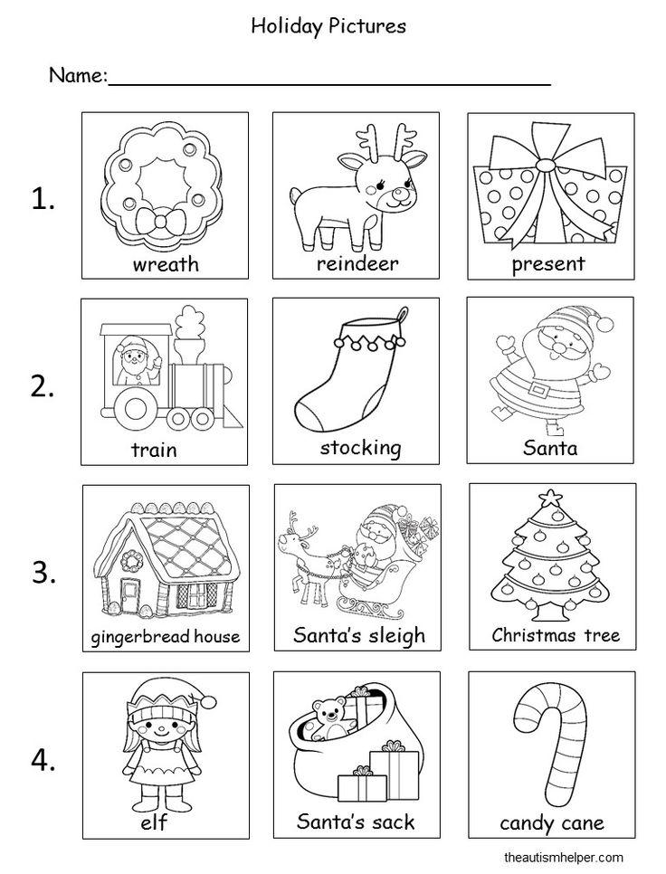 Hazırlanan alın - Noel Kitaplar Uyarlanmış! - Otizm Yardımcısı