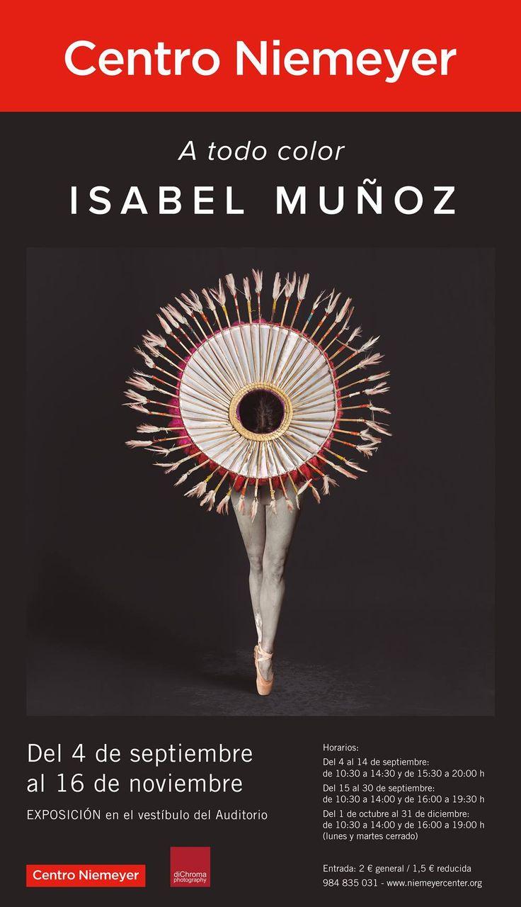 """""""A todo color"""". Isabel Muñoz en el Centro Niemeyer"""