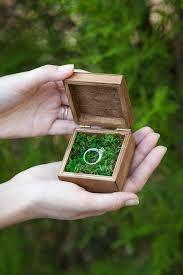 Image result for ring bearer box