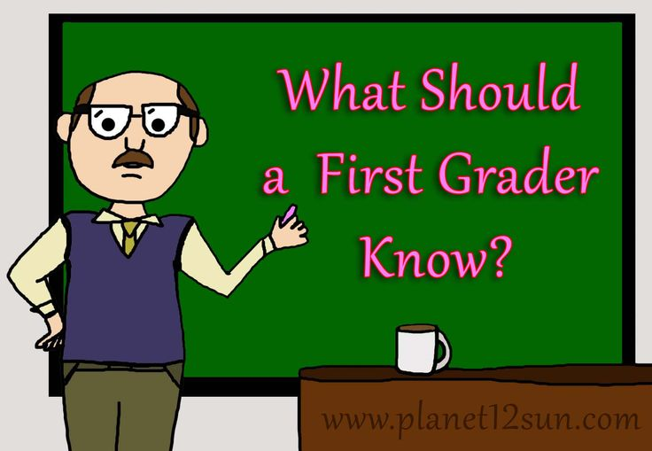 What should a 1st grader know. Learning guide. See what educational milestones your child should master.