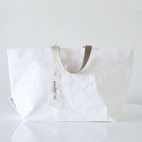 Large Tote in white by essential, Italy - Object of Desire Shop