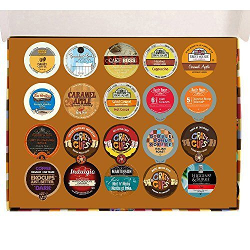 20 Count Coffee, Cappuccino, Hot Chocolate,Tea, Chai & Cider Deluxe Gift Sampler for Keurig K Cup Brewers - http://mygourmetgifts.com/20-count-coffee-cappuccino-hot-chocolatetea-chai-cider-deluxe-gift-sampler-for-keurig-k-cup-brewers/